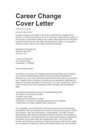 Cover Letter For Us Postal Service Job 39 Professional Career Change Cover Letters Template Lab