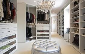 elegant walk in closet by lisa adams closet design