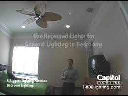 bedroom recessed lighting. 5 Biggest Lighting Mistakes - Bedroom Recessed N