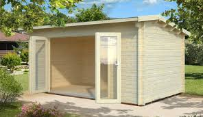 garden houses. new bi-fold door summer rooms garden houses