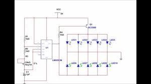 Led Circuit Design Tutorial Bicolour Led Flasher Circuit Simulation