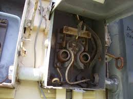 about covington inspections photo of old breaker box needs removed
