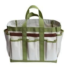 worth garden 19 in w 6 pockets garden hand tools bag