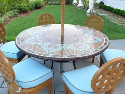replacement glass for patio table with umbrella hole full size of round bar height