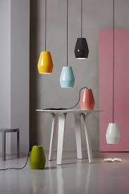 nordic lighting. Bell Is A Series Of Shiny Porcelain Pendant Lights By Northern Lighting. # Nordic #Scandinavia Lighting Y