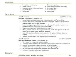 Avionics Technician Resume Sample Airline And Aviation Industry Best ...