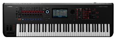 yamaha montage. yamaha montage 7 motion control, awm2 + fm-x synthesizer (76-key) @fairdealmusic