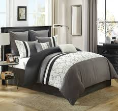 gray and white king comforter set. Unique And On Gray And White King Comforter Set G