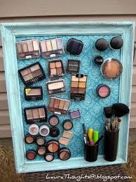 DIY Magneti Makeup Storage Board  2c88120cdce83ccc90fa8b721319a23c