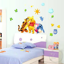 winnie the pooh wall art the pooh es wall art creative sticker the pooh wall stickers