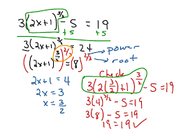 solving equations with rational exponents section1 6 math