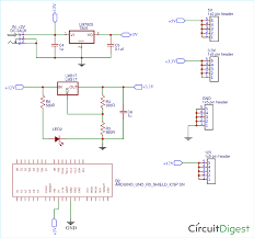 5v And 12v Power Supply Design Diy Arduino Power Supply Shield With 3 3v 5v And 12v Output