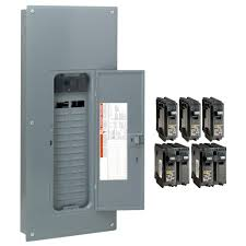 main breaker load centers breaker boxes the home depot Ge Load Center Wiring Diagram homeline 200 amp 30 space 60 circuit indoor main plug on neutral breaker ge load center tl412cp wiring diagram