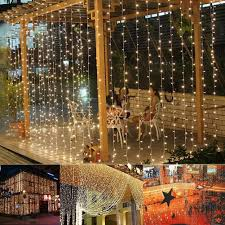 lighting curtains. amazoncom ucharge window curtain icicle lights29v306 led with 8 modeswarm white led lights 98ft x 98ftul listed home improvement lighting curtains g