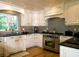 kitchens ideas with white cabinets. Beautiful With Kitchen Backsplash White Cabinets For  Ideas With Off Riverwhite To Kitchens Ideas With White Cabinets