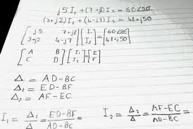 solving a 2x2 system of complex equations using casio fx 570es