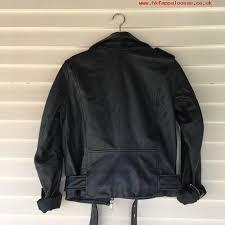 nwt zara ss17 genuine sheep leather jacket biker coat 5479 241 m xtqn72511015 black