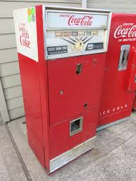 Old Soda Vending Machines Delectable Vintage Coke Machines For Sale CocaCola Machines For Sale Vendo