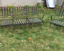iron patio furniture. Astounding Antique Wrought Iron Patio Furniture Ebay Value Classic Used S