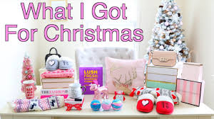 For Christmas What I Got For Christmas 2016 Youtube