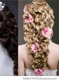 Brautfrisur Langes Haar Geflochten Mit Kopfschmuck F R Russische