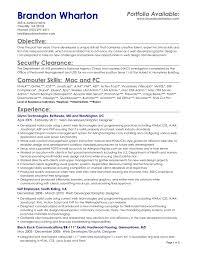 Server Position Resume Wildlife Technician Sample Resume
