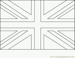 Useful British Flag To Colour Challenge England Coloring Page United Kingdom Flag Colouring Page L