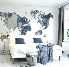 diy wall murals wall murals wall wall best wall murals bedroom ideas on world map mural