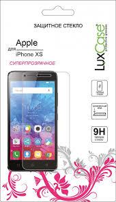 Защитное стекло <b>Luxcase Glass для</b> Apple iPhone X глянцевое
