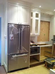 built in counter depth refrigerators. Plain Built Cabinet Depth Refrigerator Set In The Space Fridge Inside Built In Counter Refrigerators