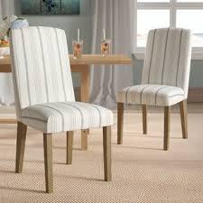 lake kathryn stripe parsons chair set of 2