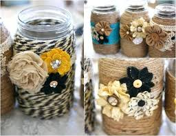 Decorative Jars Ideas Decorative Mason Jars Mason Jar Ideas Shabby Chic Painted Mason 48