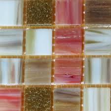 bellaterra home 12 in x 12 in x 4 mm glass mosaic tile diy