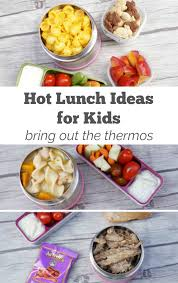 kid approved hot lunch ideas how to