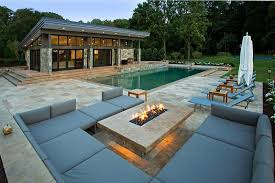 Image Inground Designrulz 33 Pool Houses With Contemporary Patio