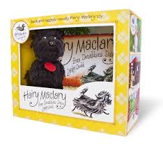 Hairy mclairy jigsaw books