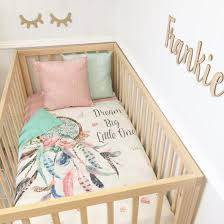 Dream Catcher Baby Bedding Dream Big Little One Aqua And Pink Dream Catcher With Aqua Dots 13