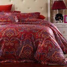 previous ralph lauren paisley bedding red