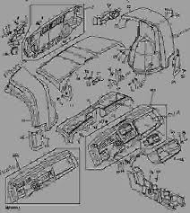 hood, instrument panel, front fender and grille utility vehicle Xuv 620i Wiring Diagram list of spare parts gator xuv 620i wiring diagram