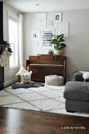white shag rug living room. A White Shag Rug In The Living Room (With Baby \u0026 Toddler) | I