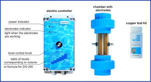 neutral pool ionizer replacement chamber