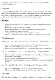 Entertainment Resume Template New Media Entertainment Resume Templates To Impress Any Employer