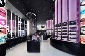 Mac Interior Design Mikiko Kikuyama Mac Cosmetics Store Design Interior Photography