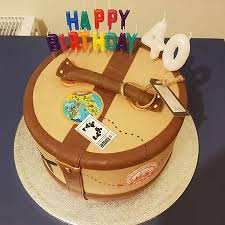 My Husbands 40th Birthday Cake Picture Of Nutmegs Patisserie