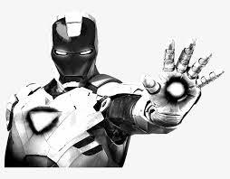 Wallpaper white black illustration minimalism logo. Logo Iron Man Wallpaper Black And White