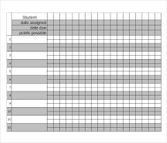 Teacher Grade Sheet Template Sample Grade Book Barca Fontanacountryinn Com