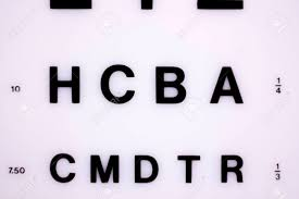 Photography Test Chart Opticians Ophthalmology And Optometry Eye Test Chart To Test