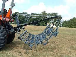 Chain Harrow Homemade Tractor Tractor Idea Tractor Attachments