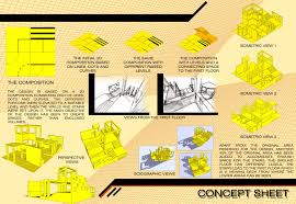 architecture design concept ideas. Perfect Design Project Ideas 11 Architectural Design Concept Sheet To Architecture E