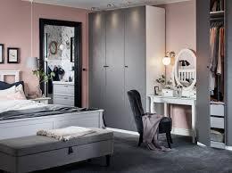 Schlafzimmer In Rosa Grau Dekorieren Ikea